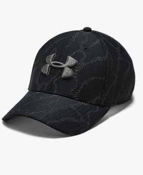 Men's UA Printed Blitzing 3.0 Stretch Fit Cap